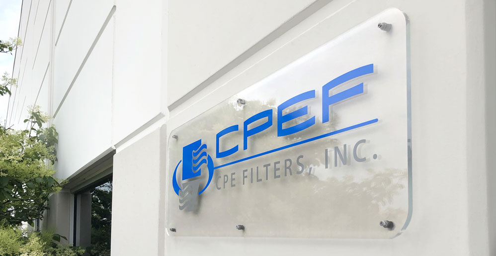 CPEF Sign on Building